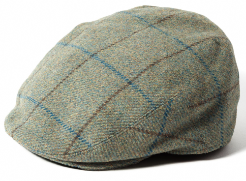 4eed6a16b7e Failsworth Gamekeeper Tweed Flat Cap Style 1184